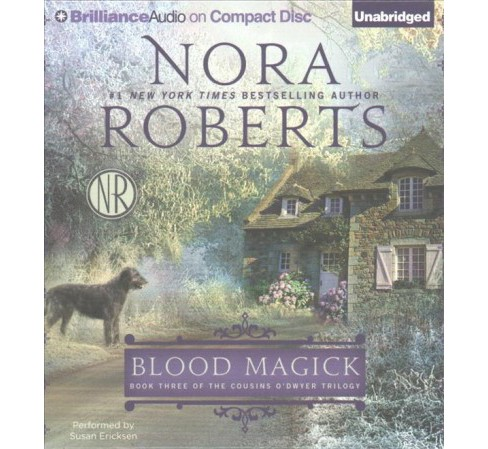 Blood Magick (Unabridged) (CD/Spoken Word) (Nora Roberts) - image 1 of 1