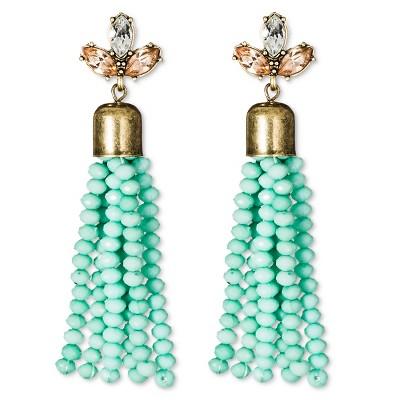 SUGARFIX by BaubleBar™ Beaded Tassel Earrings – Mint