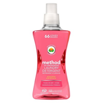 Method Spring Garden 4x Concentrated Laundry Detergent 53.5 oz