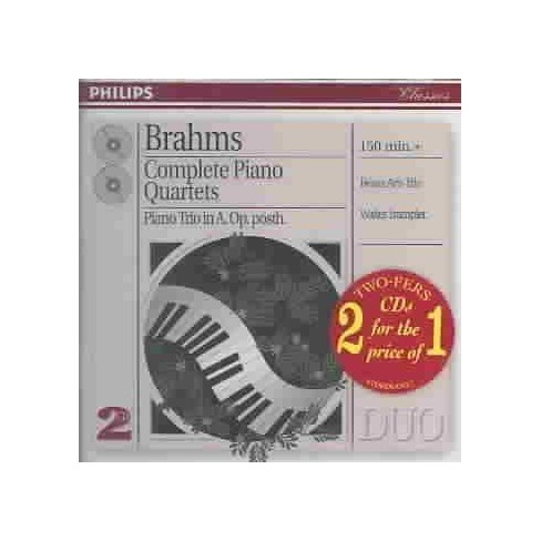 Trampler & Beaux Arts - Brahms:Complete Piano Qts (CD) - image 1 of 1