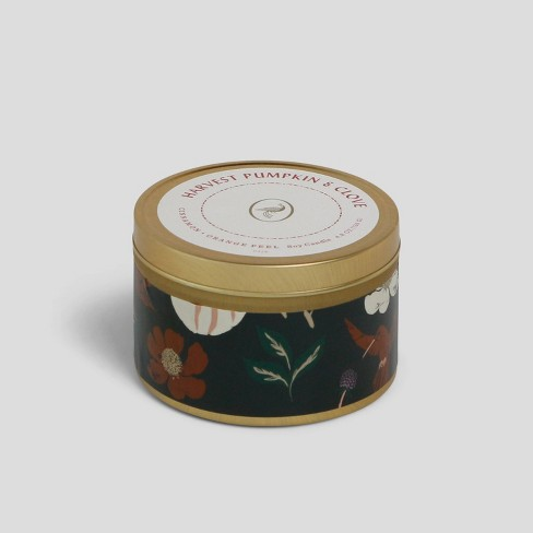 4.8oz Tin Jar Candle Harvest Pumpkin & Clove - Opalhouse™ - image 1 of 2
