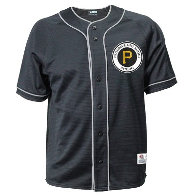 MLB Pittsburgh Pirates Men's Button-Down Jersey