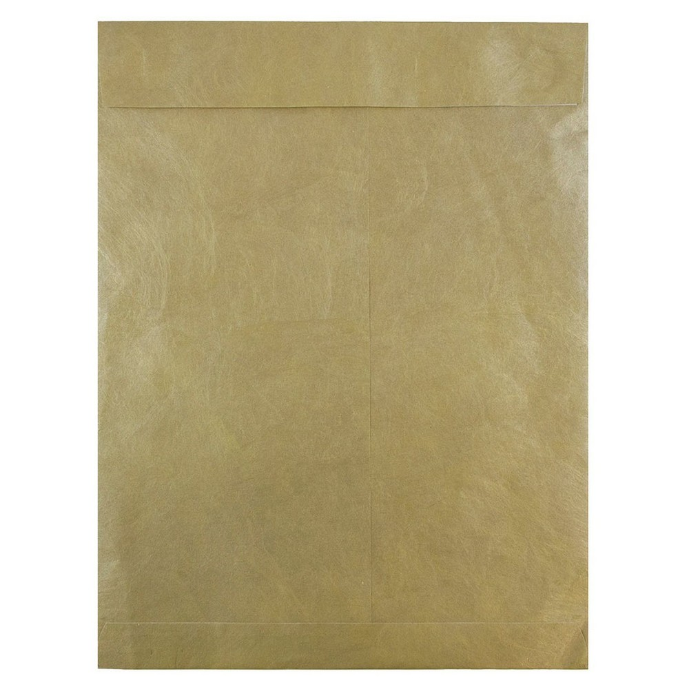 Jam Paper Peel & Seal Envelopes 10 x 13 10ct - Gold