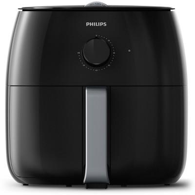 Philips Twin TurboStar Analog 4qt Airfryer XXL Black - HD9630/96