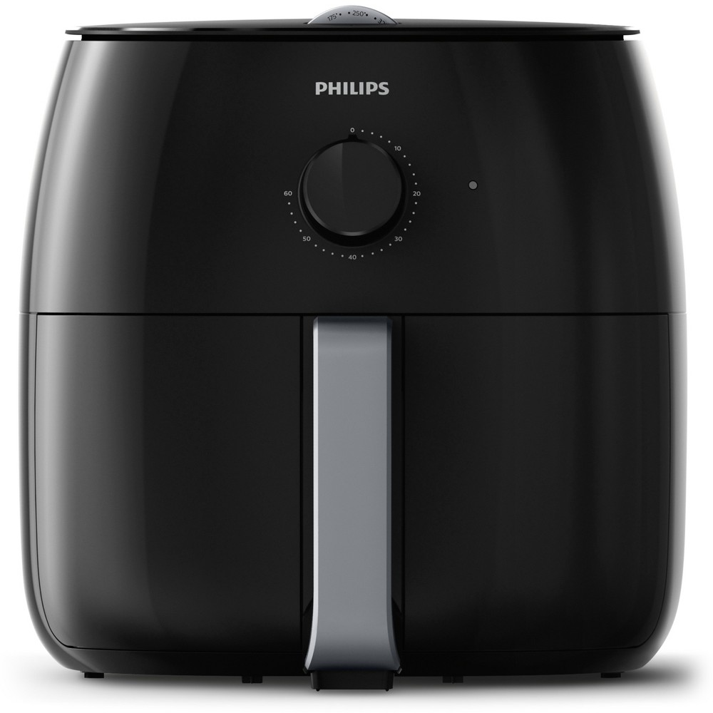 Philips Twin TurboStar Analog 4qt Airfryer Black – HD9630/96 53760545
