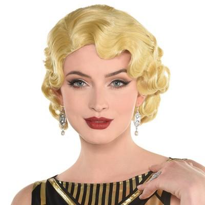 Adult Fingerwave Halloween Costume Wig