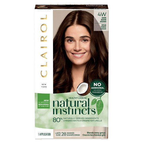 Clairol Natural Instincts Ammonia-Free Hair Color Light Golden Red - image 1 of 8