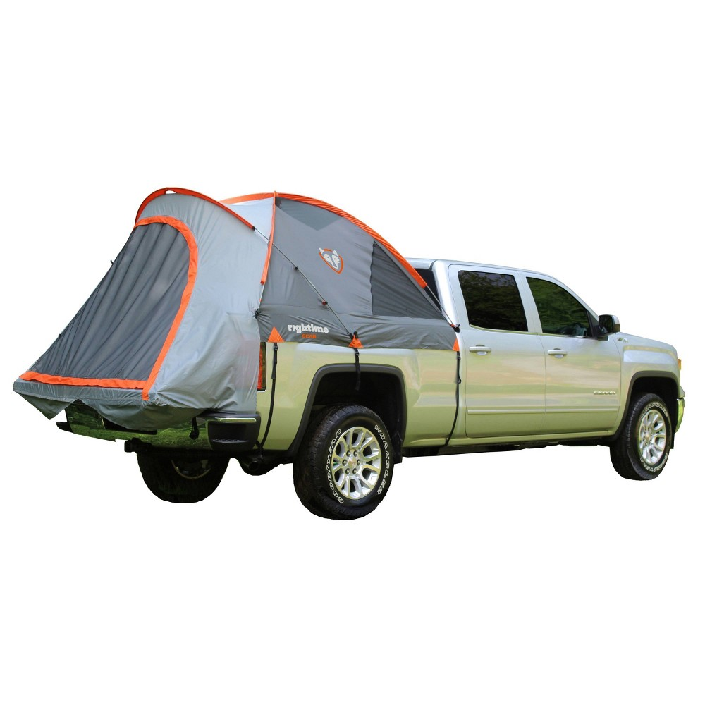 Image of Rightline Gear 5' Mid Size Short Bed Truck Tent - Orange, Size: Mid Size Short/T Bed, Orange Gray