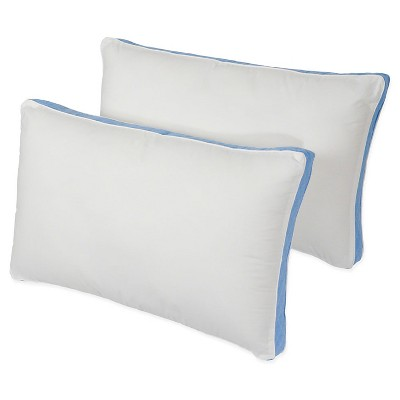 Density Firm Bed Pillow 2Pk (Queen 20 x30 )White - Iso-Pedic®