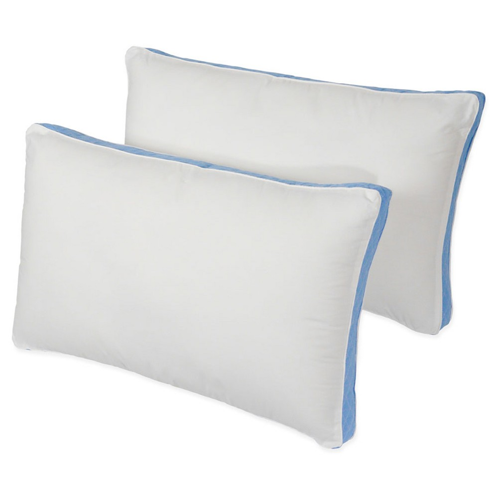 "Image of ""Density Firm Bed Pillow 2Pk (Queen 20""""x30"""") White - Iso-Pedic"""