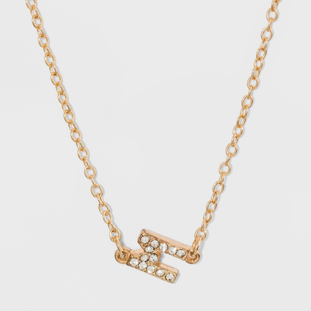Sugarfix by BaubleBar Alpha Pendant Necklace - Gold, Girl's