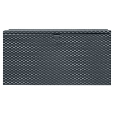 Spacemaker® 134.5 Gallons Deck Box - Anthracite - Arrow Storage Products