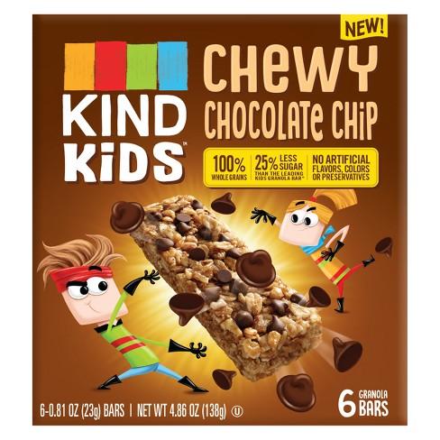 KIND Kid's Chewy Chocolate Chip Granola Bars - 4.86oz - image 1 of 4