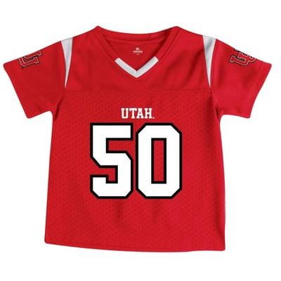 NCAA Utah Utes Toddler Boys' Short Sleeve Jersey