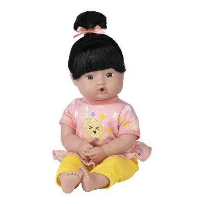 Adora Playtime Baby Doll Bright Citrus, 13 inch Soft Doll, Best Baby Toy Gift for Age 1+