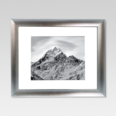 11 x14  Matted for 8 x10  Silver Frame - Threshold™