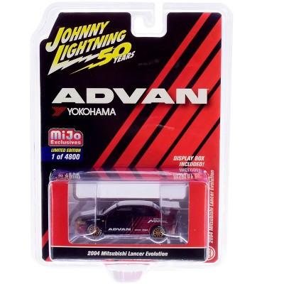"2004 Mitsubishi Lancer Evolution ""ADVAN Yokohama"" ""JL 50th Anniversary"" Ltd Ed 4800pcs 1/64 Diecast Car Johnny Lightning"