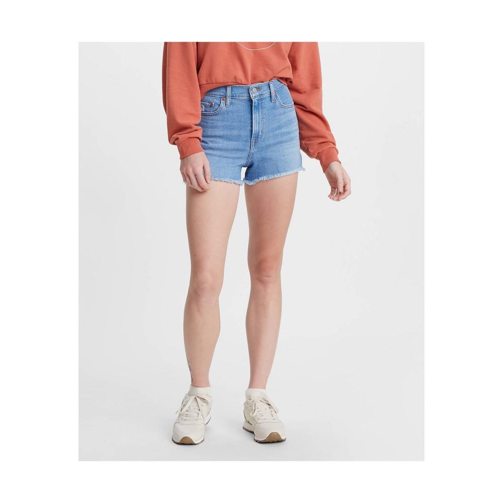 Levi 39 S 174 Women 39 S High Rise Jean Shorts Harlem Scoop 27