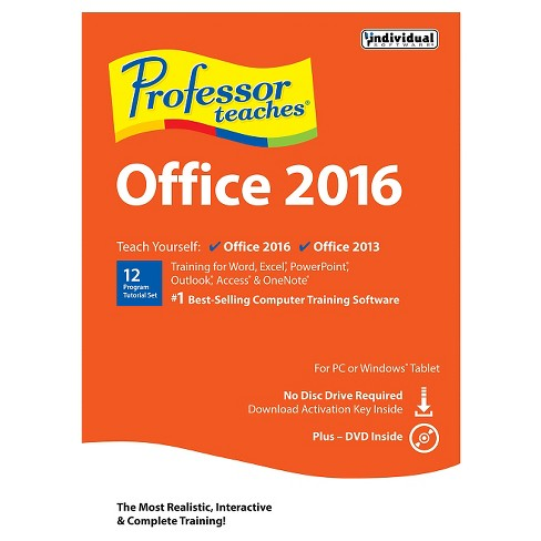 Professor Teaches Office 2016 PC Software - image 1 of 1