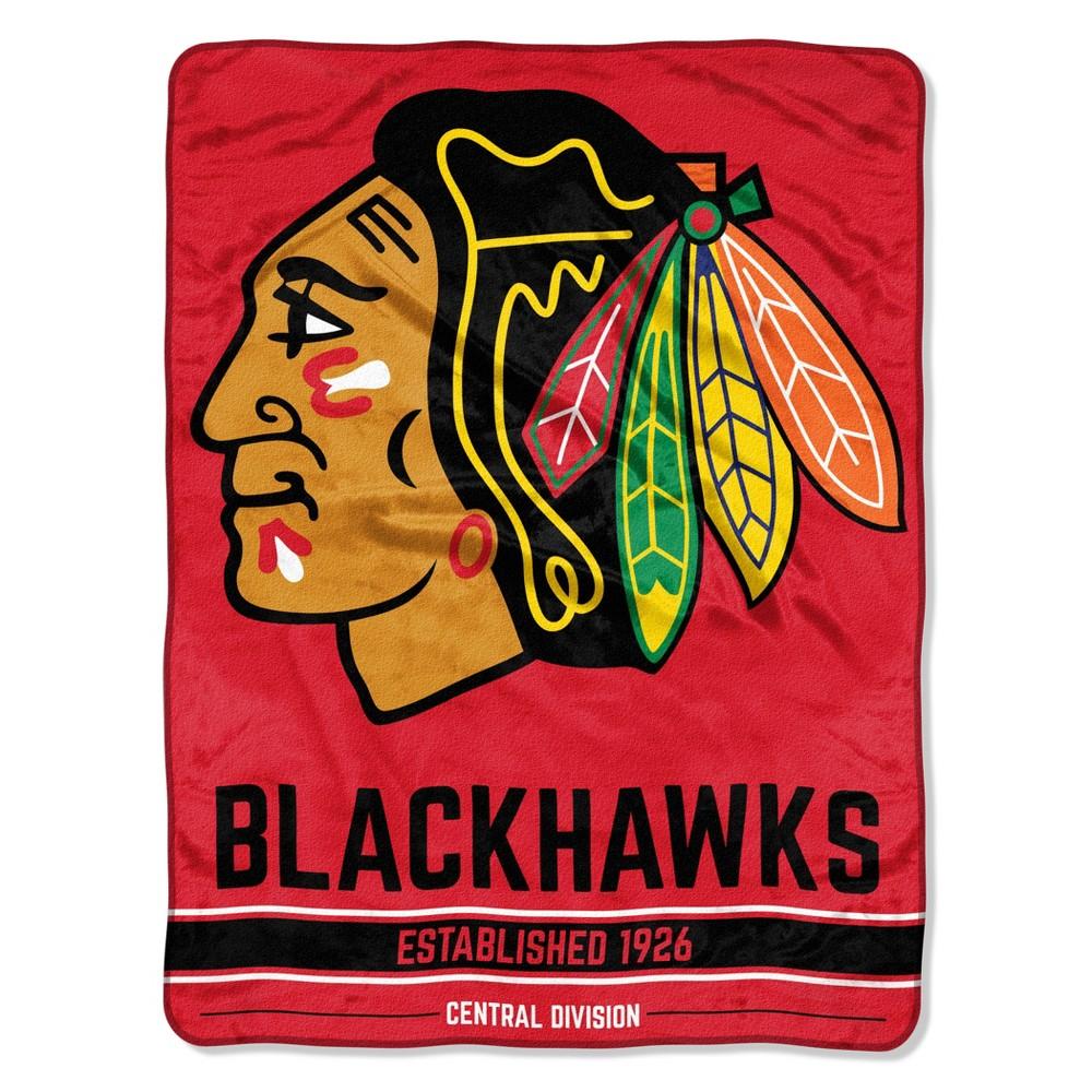 NHL Chicago Blackhawks Micro Fleece Blanket