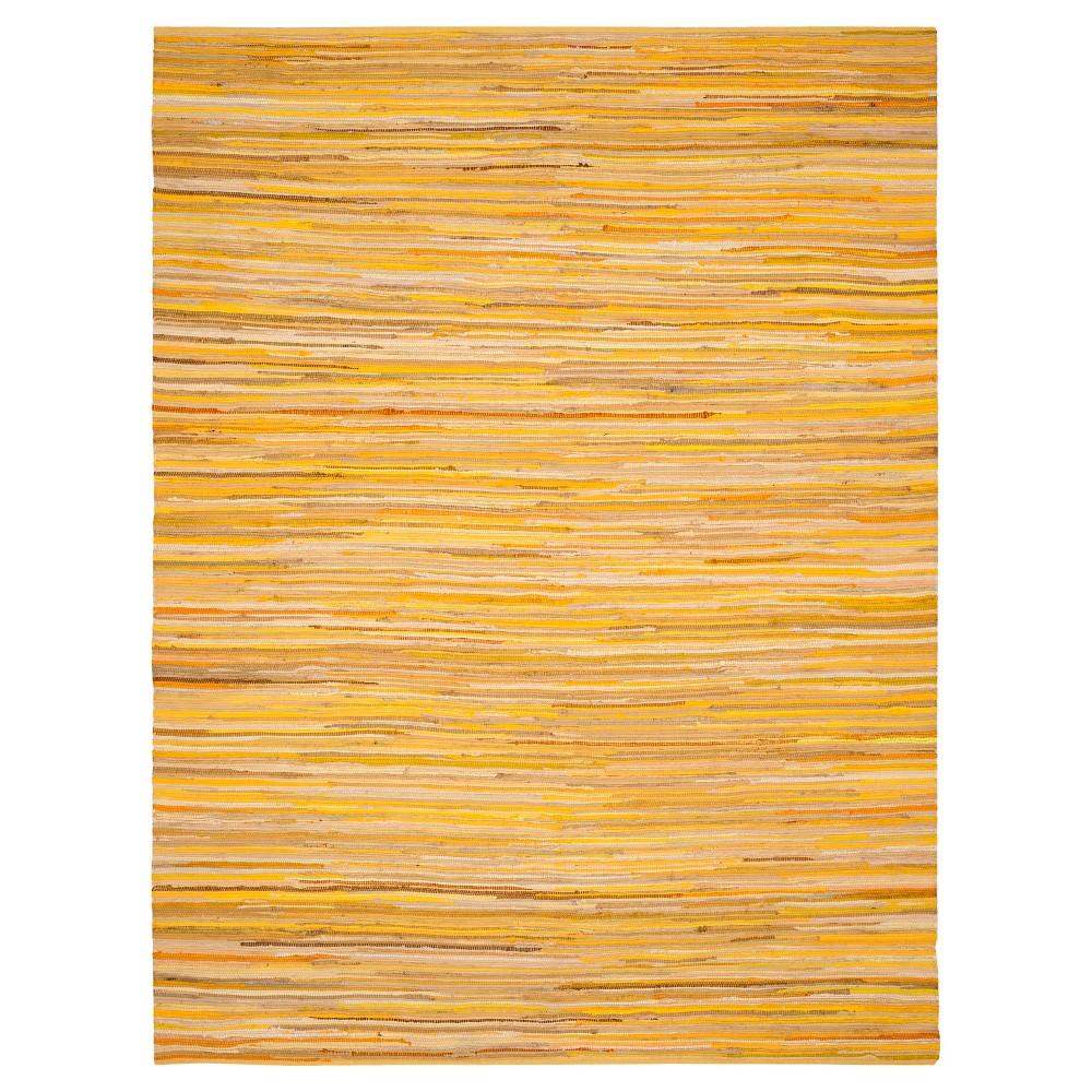 Yellow Spacedye Design Flatweave Woven Area Rug 4'X6' - Safavieh, Yellow/Multi