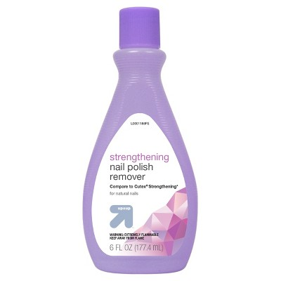 Strengthening Nail Polish Remover - 6oz - up & up™