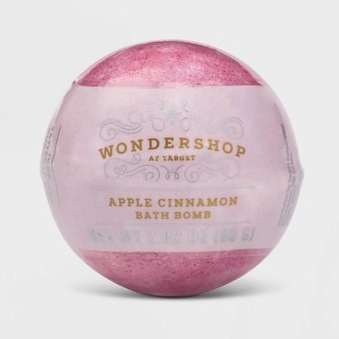 Apple Cinnamon Bath Bomb - Red - 2.82oz - Wondershop™ - image 1 of 2