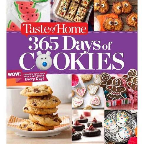 Taste Of Home 365 Days Of Cookies Spiral Bound Target