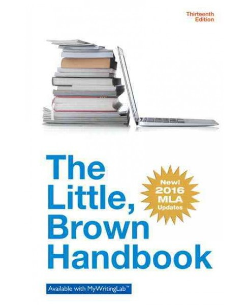 Little Brown Handbook : Mla Update Edition (Hardcover) (H. Ramsey Fowler) - image 1 of 1