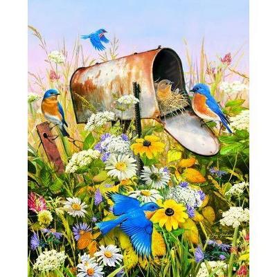 Sprinkbok Blue Birds Jigsaw Puzzle - 500pc