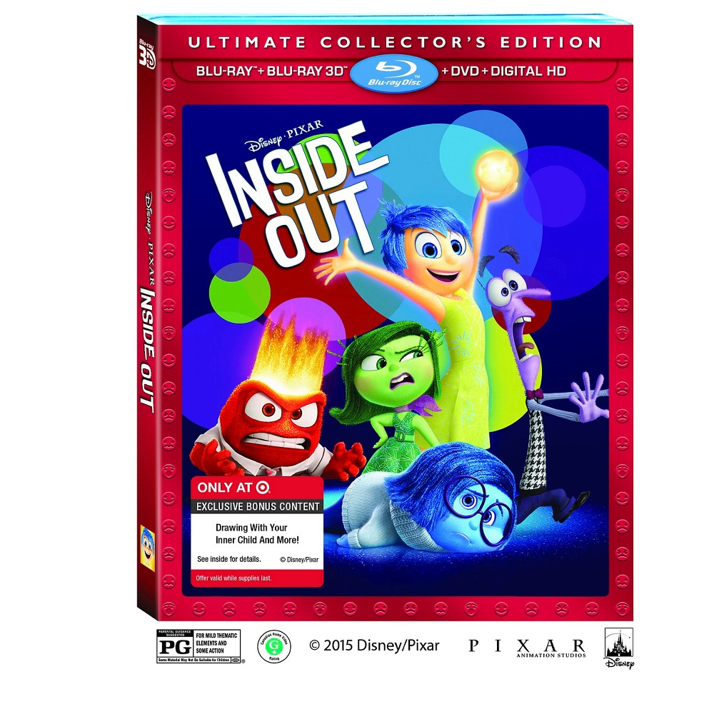 Inside Out 3D Target Exclusive