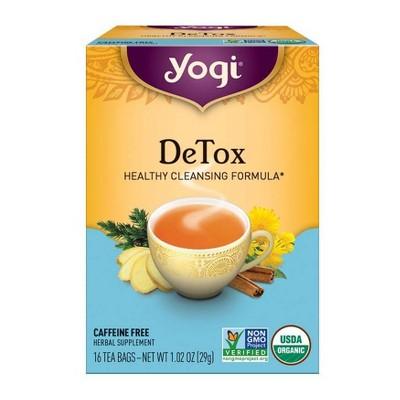 Yogi Tea - DeTox Tea - 16ct
