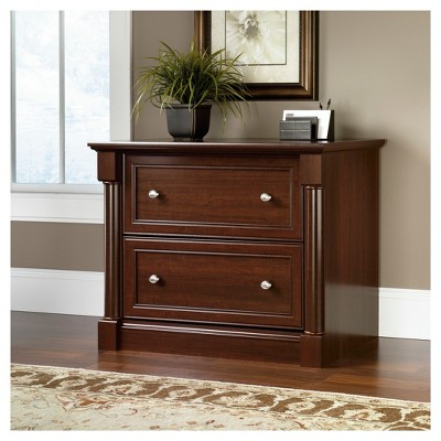 Palladia Lateral File Cabinet   Select Cherry   Sauder