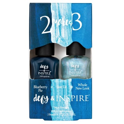 Defy & Inspire™ Duo Nail Polish Set 2 Makes 3 - 0.17 fl oz