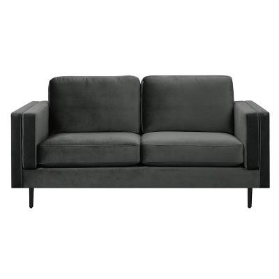 Simone Modern Contemporary Track Arm Sofa - Adore Décor