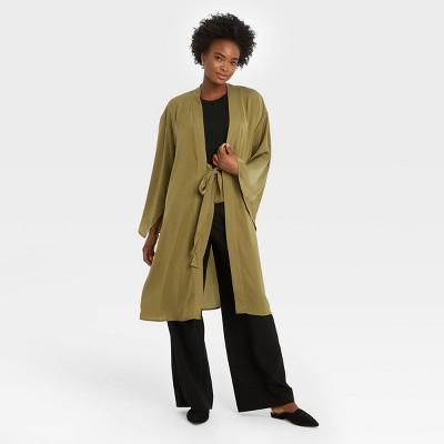 Women's Kimono - A New Day™ Olive