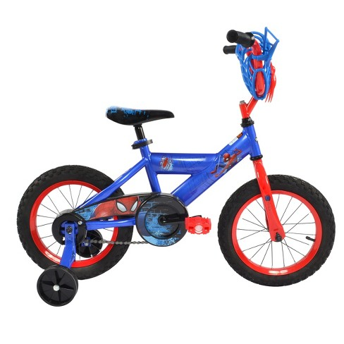 Huffy Spider Man Bike 14 Blue Red Target