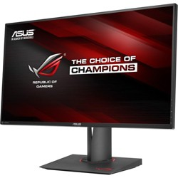 "ASUS ROG Swift 27"" Gaming Monitor Black & Red  -  2560 x 1440 WQHD Display - 165Hz refresh rate - NVIDIA G-Sync technology"