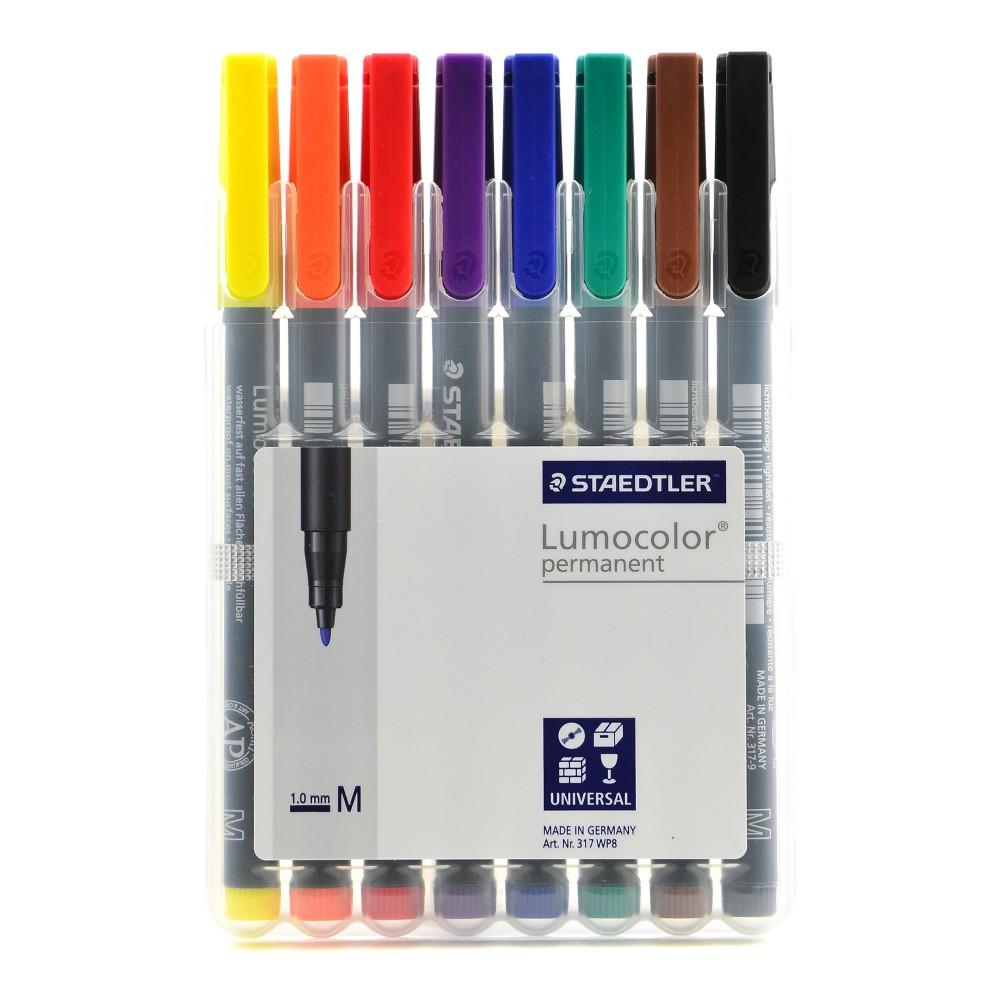 Image of Lumocolor Permanent Markers 8ct - Staedtler