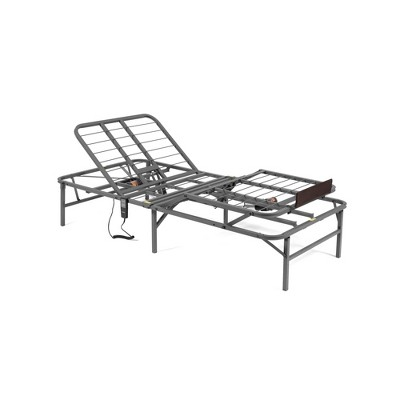 Pragmatic Adjustable Head and Foot Bed Base Gray - PragmaBed