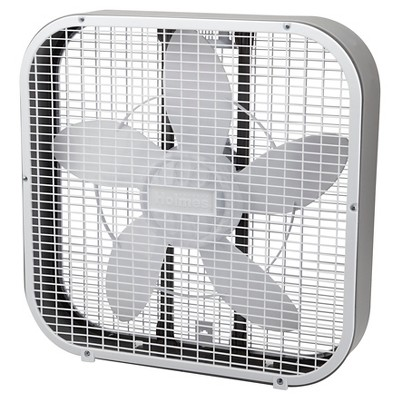 20  3-Speed Box Fan White - Holmes