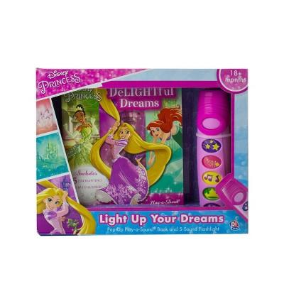 Disney Princess - DeLIGHTful Dreams - Little Flashlight Pop-Up Book and 5-Sound Flashlight (Board Book)