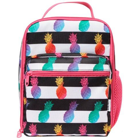 Crckt Kids' Tween Lunch Bag - Pineapple/Stripe - image 1 of 4