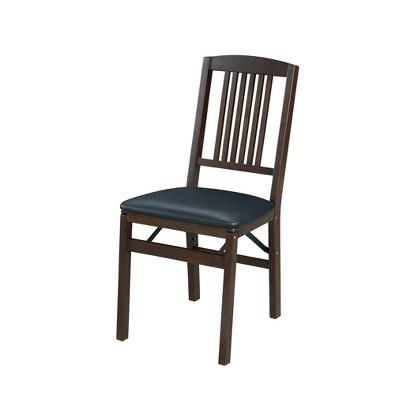 Set of 2 Simple Mission Folding Chair - Stakmore