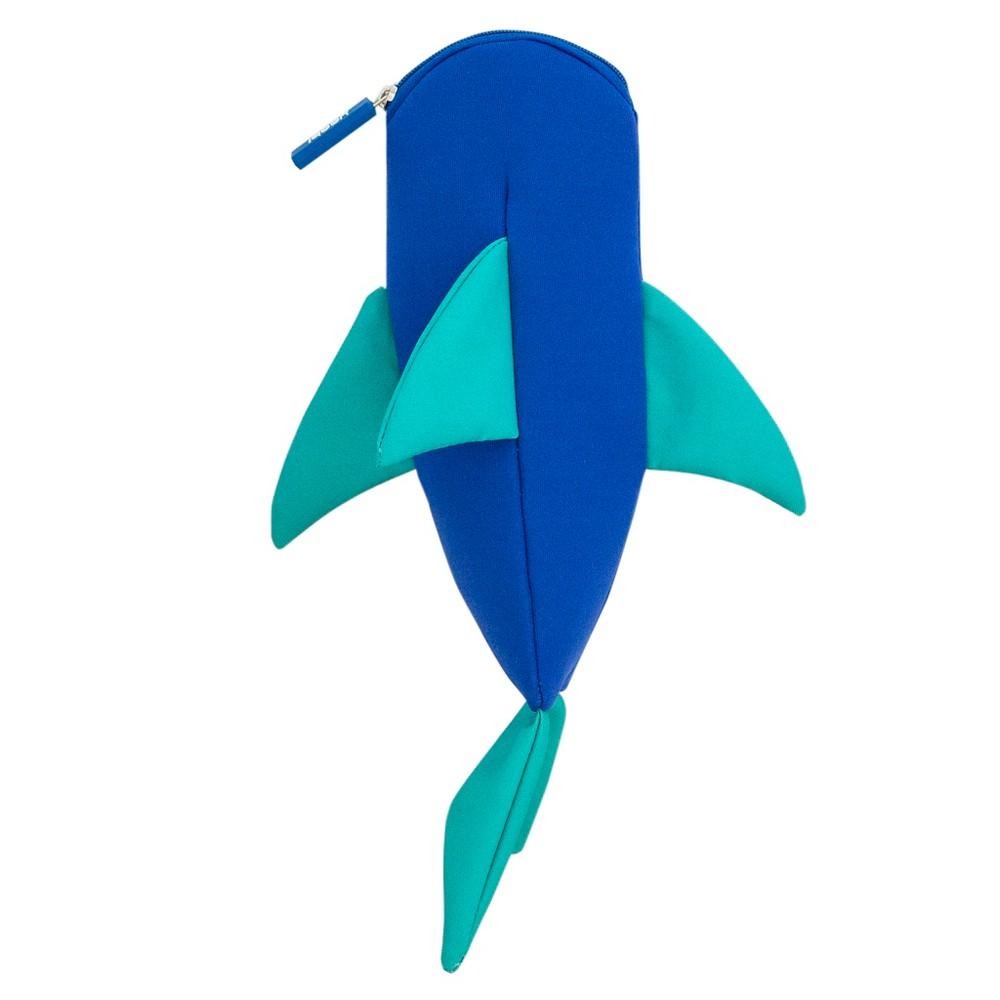 Shark Pencil Case - Yoobi, Blue
