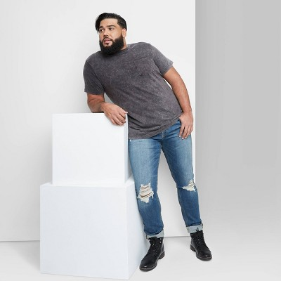 Men's Big & Tall Regular Fit Short Sleeve Knit Crewneck T-Shirt - Original Use™ Black