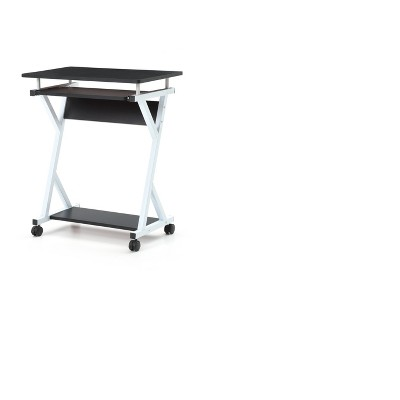 Computer Desk with Keyboard Tray - Hodedah Import
