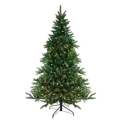 Northlight 7.5' Prelit Artificial Christmas Tree LED Noble Fir - Dual Lights