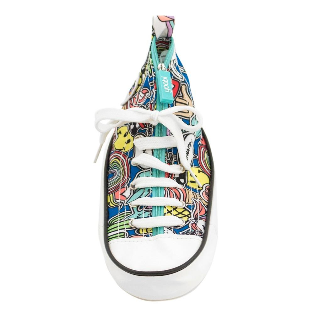 Sneaker Pencil Case Teal (Blue) - Yoobi