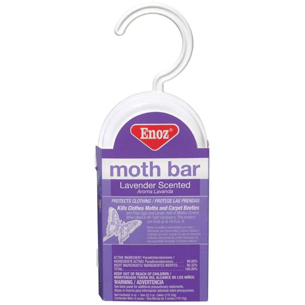 Image of Enoz Lavender Scented Hanging Moth Bar - 6oz